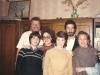 Masha Prilutsky, Stuart Wurtman, Malka Prilutsky, Vica Prilutsky, ?? Moscow, May 1989, co Enid Wurtman