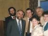 Leonid Feivert, POZ Yosef Begun, POZ Yuli Edelstein, Julia Rabinovich, ?, Tanya Edelstein, Moscow, June 1987, co Enid Wurtman