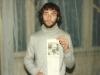 Boris Begun with article about his father POZ Yosef Begun, June, 1987, co Enid Wurtman