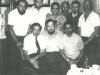 First row:  Vladimir Lazaris, Dov Ramm, Leonid Koshevoy; Second row: Pavel Abramovich, Vladimir Prestin, Yuri Golfand, Benjamin Fain, Victor Brailovsky, Mark Azbel, Moscow, 1975,  co Enid Wurtman