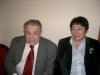 Mikhail Chlenov, Galina Kuznetsova, Moscow January 2004