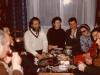 From the left: Alexander Lerner, Yuli Kosharovsky,Volodya Slepak,Dina Beilina, Alexander Voronel, Natasha Federov, Alexander Goldfarb, Morey Schapira, Moscow, 1974