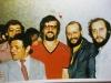 Mikhail Chlenov, Mikhail Nudler, Mikhail Khanin, Yakov Shmaevich, Moscow, 1975.