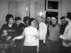 Refusenks party, Moscow 1974. Vladimir Slepak,  Elena Polsky co, Evgeni Yakir, Sonia Polsky, Maria Slepak, Mark Azbel, Alexander Voronel, Alexander Luntz, Victor Brailovsky, Victor Polsky.