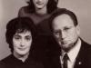 Polsky family: Elena,  Marina Polsky, Victor Polsky, co D. Drapkin
