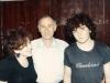Reznikov family. Shoshana, Gennady, and their son  Vladimir,  Moscow, 1988,  co RS