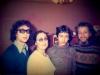 Slepak Family: Alexander, Maria, Leonid, Vladimir co, Moscow 1973