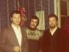 Alexander Voronel, Vladimir Lerner, Yuli Kosharovsky at Lerner's Seminar, Moscow 1973, co Dina Beilin