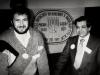 Shmuel Zilberg, Mikhail Chlenov in Vaad conference, December  1989