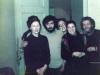 Valentina and Alex Goldfarb, Maria Slepak, Batsheva Elistratov, Volodya Slepak co, Moscow 1975