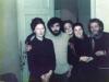 L-r: Valentina and Alexander Goldfarb, Maria Slepak, Batsheva Elistratov, Vladimir Slepak, co, Moscow, 1974