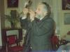 Vladimir Slepak blowing a shofar