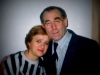 Natalia Segev, co,  with Alexander Livenbuk, General Director of Shalom Theather, Moscow  1989