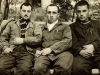 Prisoners of Zion l-r: Iosif Shnider, David Khavkin, co,  and Dov Shperling in prison camp Dubrovlag, 1960.