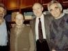 Yuli Kosharovsky, Victor Fulmakht, Isi Leibler, Alexander Ioffe, Moscow, 1988