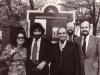 L-r: Myrna Schinbaum, Alexander Goldfarb, Rabbi Haskel Lukstein, Jerry Goodman, Noam Chudovsky, 1975, co V. Slepak