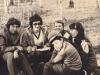 Picnic near Moscow, l-r: Sonia Polsky, Elena Polsky Yudif Lerner, Sonia Lerner, Felix Abramovich,  1972, co E.Polsky-Remez.