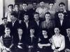 Выпускниги десятого класса, Москва, 1948 год. В третьем ряду третий слева Виталий Свечинский, пятый - Роман Брахман, шестой - Михаил Маргулис. Фото из п.а. В.Свечинского.