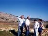 Меир Гельфонд с друзьями нв Голвндских высотах, Израиль.