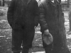 Узники Сиона Михаил Кауфман (слева) и Давид Хавкин в исправительно-трудовом лагере в Дубровлаге. Фото из п.а. Хавкина, 1959 год.