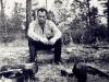 Виталий Свечинский, один из лидеров сионистского движения , арестован в 1950 году и приговорен к 10 годам заключения за сионистскую деятельность, освобожден в 1955 году в связи с пересмотром дела, прибыл в Израиль в 1971 году. Фото: Колыма, 1964 год, п.а. Свечинского.