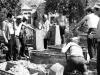 Jewish cemetery reconstruction, Dauvgavpils, 1960s, co Eli Valk