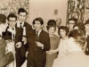 Jewish wedding in Riga, 1968, Jewish youth singing Jewish songs and dancing Jewish dances. co Eli Valk