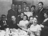 At Hanuka celebration, Riga Dec. 7, 1969. Standing l-r: ?, Eliyahu Yoeli, Dola Borin, Lev Yoely, Margalit Spielberg, Silva Zalmanson, ?, Aharon Spielberg co, Liza Borin, Dec. 7, 1969