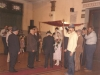 Wedding - Chuppah in Riga synagogue, Stuart Wurtman far right, May, 1989, co Enid Wurtman