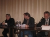 Mikhail Chlenov, Zeev Khanin, Iosif Zisels in the presidium of  international conference