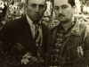 David Khavkin co  and Iosif Shnider in forced labor camp, Dubrovlag, 1959.