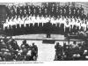 Еврейский хор в Риге. Хор был распущен властями после нескольких представлений. Рига, 1957, п.а. Эли Валк