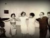 Молодежь танцует Хору на еврейской свадьбе, Рига, 1967 год, п.а. Эли Валк.