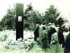 Митинг возле памятника с фрагментом картины Иосифа Кусковского, п.а. Эли Валк