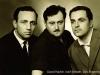 Узники Сиона слева-направо: Давид Хавкин, Иосиф Шнайдер и Дов Шперлинг, п.а. Давид Хавкин.