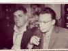 Л-п: Дов Шперлинг, Узник Сиона из Риги, и Эльханан Фельдман, Узник Сиона из Киева, Фото: Рига, 1963 год.