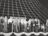 1979. Welcoming ceremony in Tel-Aviv, 1979. From the left: Eduard Kuznetsov, Mark Dymshitz, Zeev Zalmanson, Aryeh Khnokh, Anatoly Altman, Boris Penson, Hillel Butman, Meni Peer, Israeli TV, Shlomo Lahat (Chich), Mayor of Tel-Aviv, Yehezqel Pularevich, Chairman of the Prisoners of Zion organization. co RS