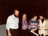 1978. From the left: Stuart Wurtman, Enid Wurtman, Avital Sharansky, Dina Beilin. Jerusalem, 1978. co RS