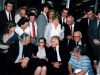From the left, the 1st row: Shimon Peres, Ida Nudel, Itzhak Shamir, Armand Hammer, in front of him – sister of Ida Nudel - Ilana Friedman. second row: Jane Fonda, Raya Yaglom, Arie Friedman, Israel, 1977, co RS