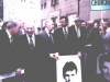 1982. Solidarity Sunday for Soviet Jewry march down to the United Nations. In the first row, from the left: Senator Henry