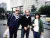Elliot Rosen, Pavel Abramaovich, and Bunny Brodsky, Moscow, year?