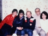 Maxine Rosen, Natasha Khassin, Lev Blitstein, and Bunny Brodsky co, Moscow, year?
