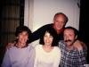 Sitting:  Maxine Rosen, Bunny Brodsky, Lev Shapiro; standing Frank Brodsky co, Leningrad, year?