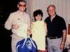 Elliot Rosen, Yelena Dubianskaya, and Frank Brodsky co, Moscow, 1985,