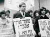 1960s. SSSJ (Student Struggle for Soviet Jewry) demonstration, 1960s. co RS