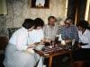 Maria Slepak, Bunny Brodsky co, Vladimir Slepak, Elliot Rosen, Maxine Rosen, Moscow,1985,