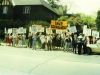 1985. Demonstration at the Soviet Embassy on behalf of Anatoly Shcharansky. Ottawa, Canada, May 15, 1985. co RS