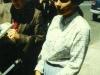 1985. Avital Shcharansky near the Soviet Embassy. Ottawa, Canada, May 15, 1985. co RS