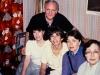 Sitting:  Bunny Brodsky, Maxine Rosen, Ludmila Shrayer, Maria Slepak, Frank Brodsky, co, Moscow, 1985