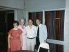 1983. From the left: Natasha Utevsky, ?, Lev Utevsky, ?. Chicago, 1983, co RS